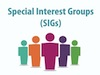 Special Interest Groups Image of 5 silhouettes of people